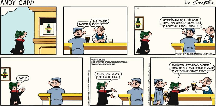 Andy Capp for Nov 3, 2013 Comic Strip