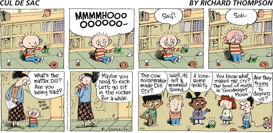 Cul de Sac Comic Strip for September 23, 2018
