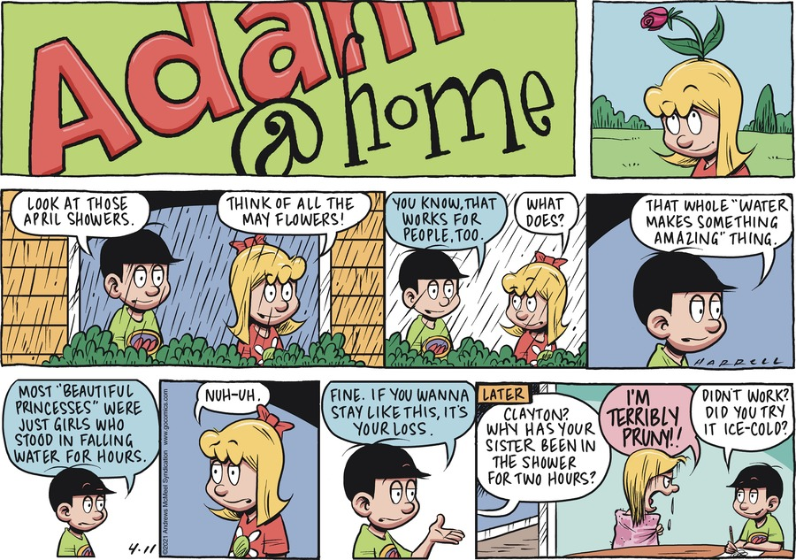 Adam@Home Comic Strip for April 11, 2021