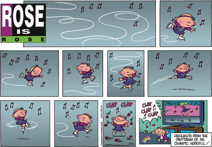 Rose is Rose for Feb 16, 2014 Comic Strip