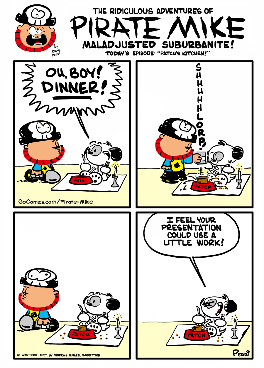 Pirate Mike Comic Strip for March 06, 2021