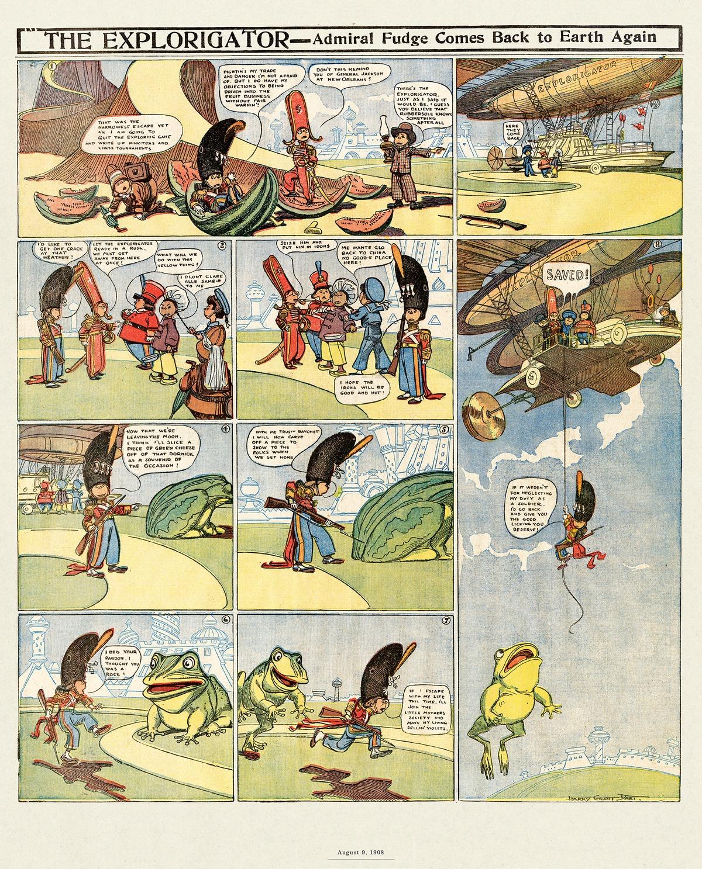 Origins of the Sunday Comics Comic Strip for September 13, 2021