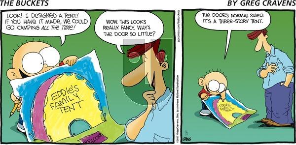 The Buckets on Sunday June 25, 2017 Comic Strip