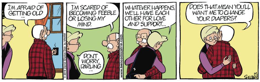 Ben Comic Strip for April 23, 2016