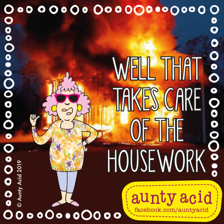 Aunty Acid by Ged Backland for May 11, 2019
