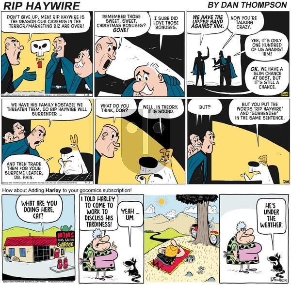 Rip Haywire on Sunday October 18, 2020 Comic Strip