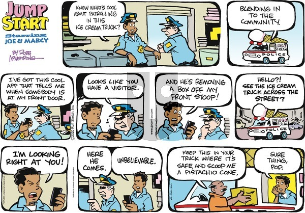 JumpStart on Sunday June 28, 2020 Comic Strip
