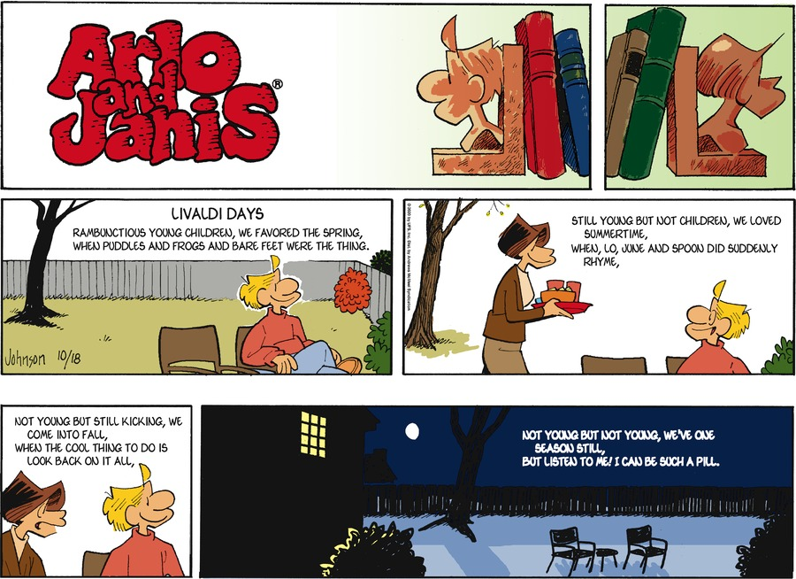 Arlo and Janis Comic Strip for October 18, 2020
