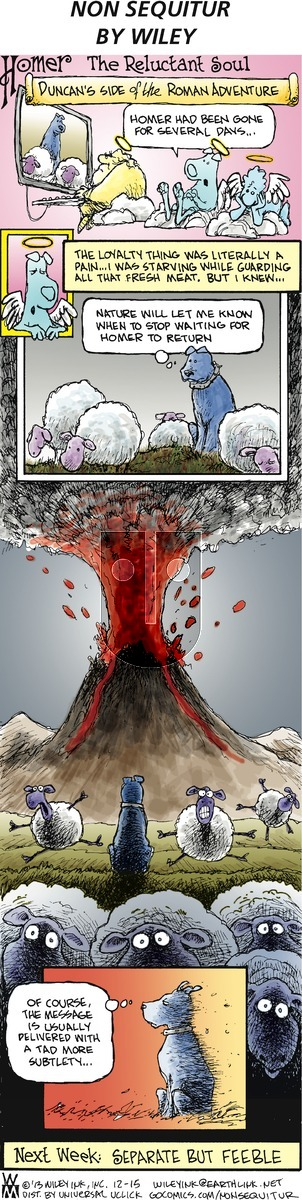 Non Sequitur on Sunday December 15, 2013 Comic Strip