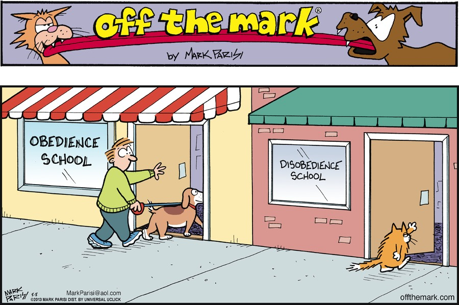 """Obedience School