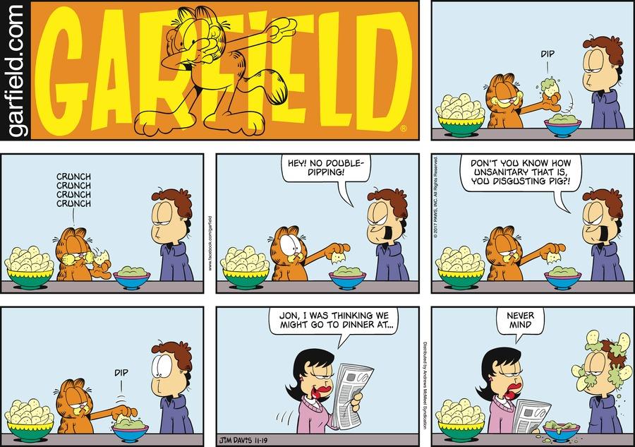 Garfield for Nov 19, 2017 Comic Strip