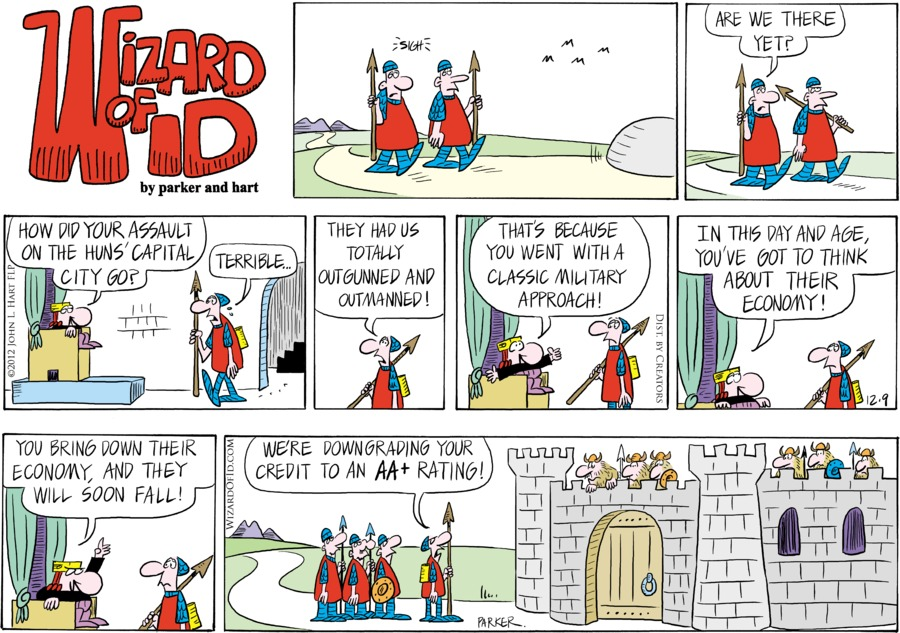 Wizard of Id Comic Strip for December 09, 2012
