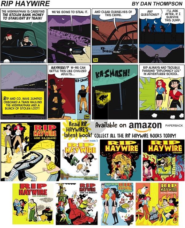 Rip Haywire on Sunday September 8, 2019 Comic Strip