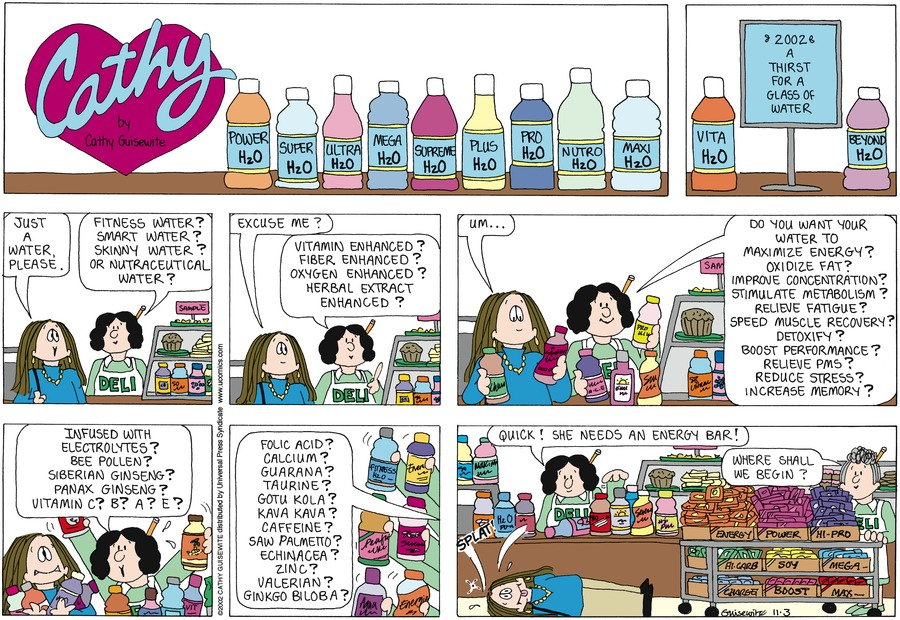 Cathy Comic Strip for November 03, 2013
