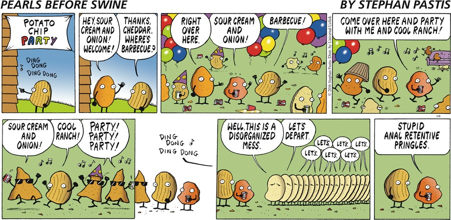 Pearls Before Swine for May 8, 2016 Comic Strip