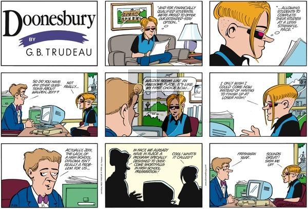 Doonesbury on Sunday May 23, 1999 Comic Strip