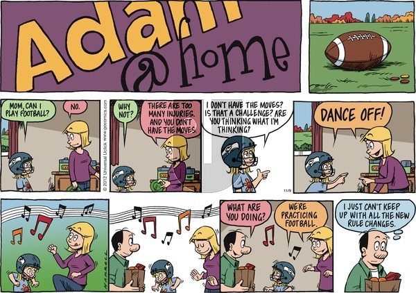 Adam@Home - Sunday November 9, 2014 Comic Strip