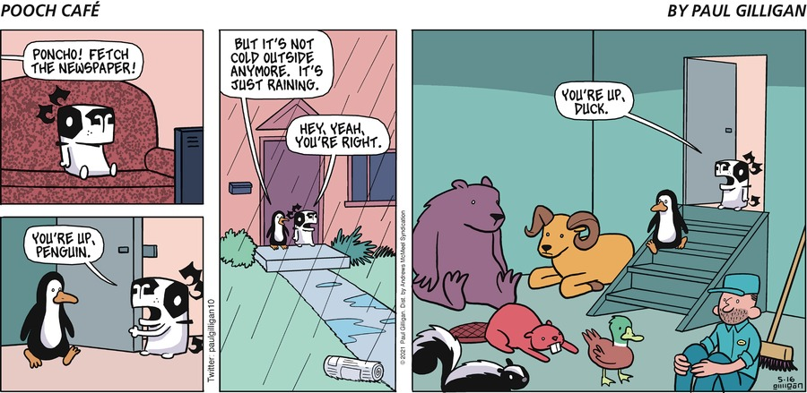 Pooch Cafe Comic Strip for May 16, 2021