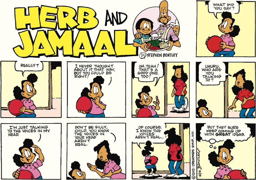 Herb and Jamaal Comic Strip for May 09, 2021