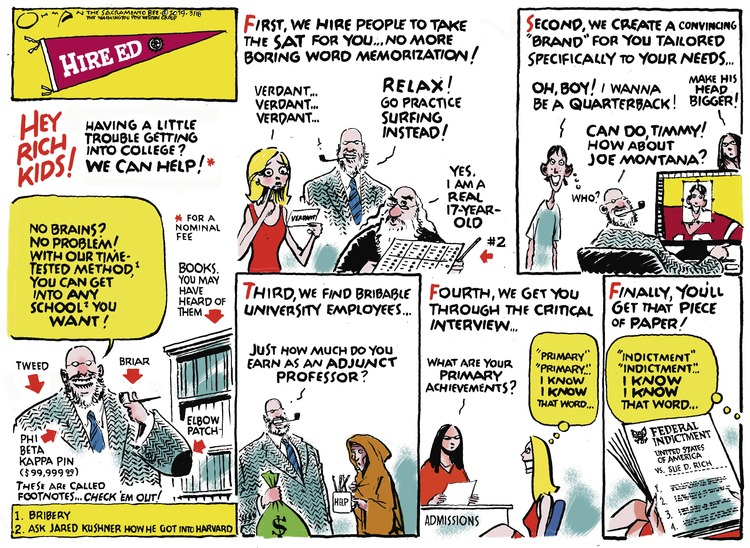 Jack Ohman by Jack Ohman for March 17, 2019