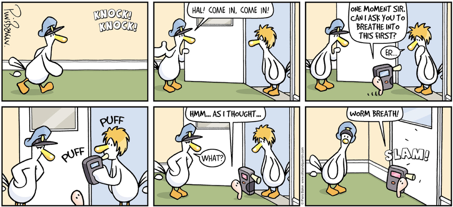 Ollie and Quentin for Mar 2, 2014 Comic Strip