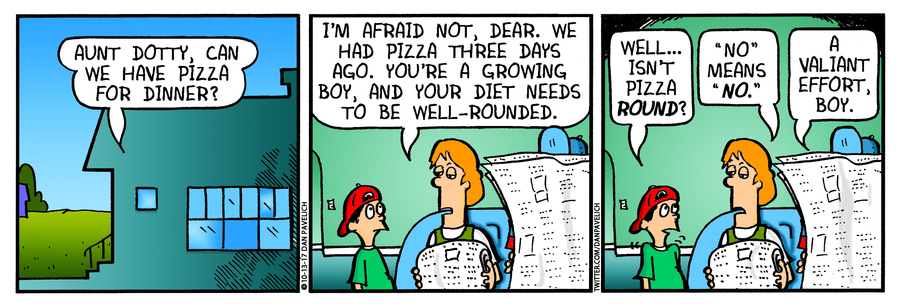 Just Say Uncle Comic Strip for October 15, 2020