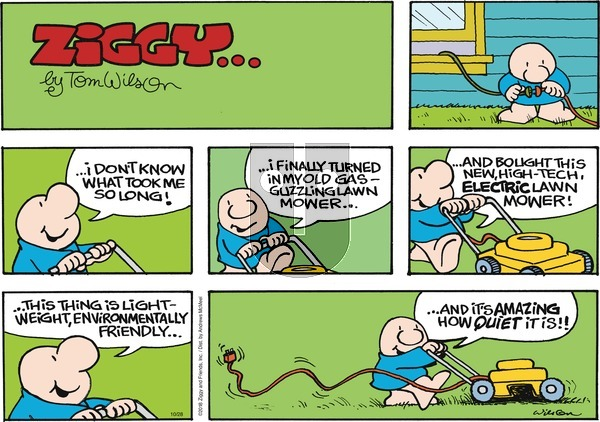 Ziggy on October 28, 2018 Comic Strip