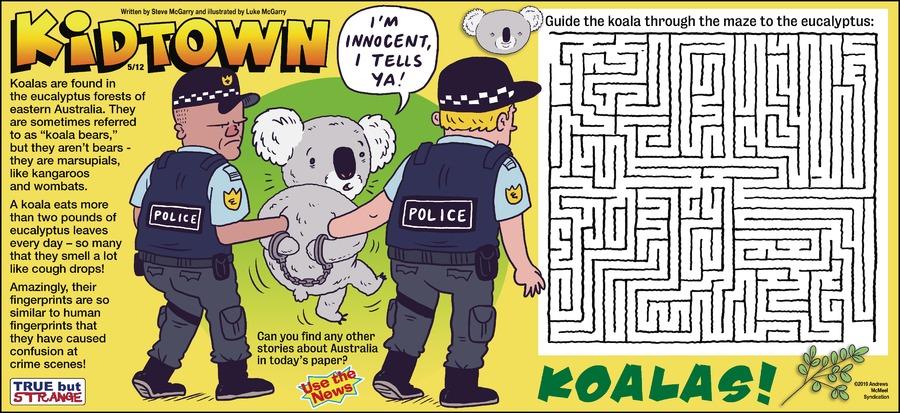 KidTown Comic Strip for May 12, 2019