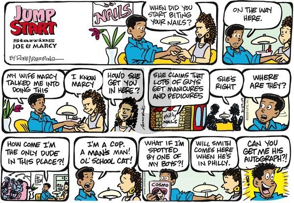 JumpStart on Sunday March 29, 2009 Comic Strip
