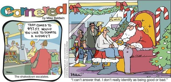 Cornered on Sunday December 9, 2018 Comic Strip
