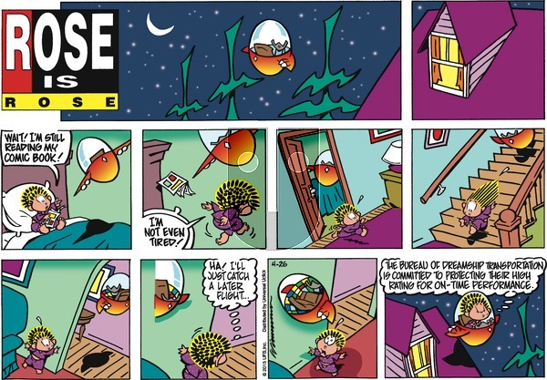 Rose is Rose on Sunday April 26, 2015 Comic Strip