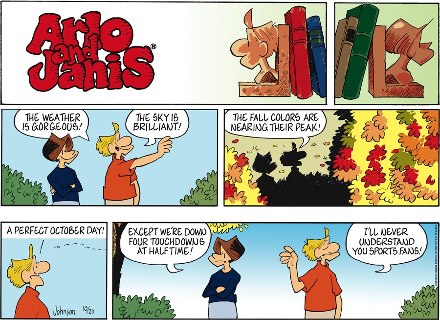 Arlo and Janis Comic Strip for October 20, 2019