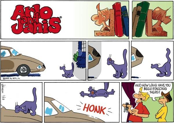 Arlo and Janis on Sunday January 23, 2005 Comic Strip