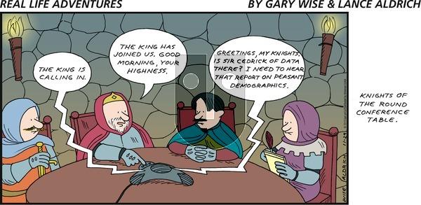 Real Life Adventures on Sunday November 29, 2015 Comic Strip