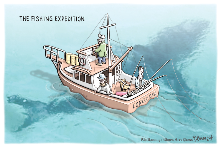 Clay Bennett by Clay Bennett for March 09, 2019