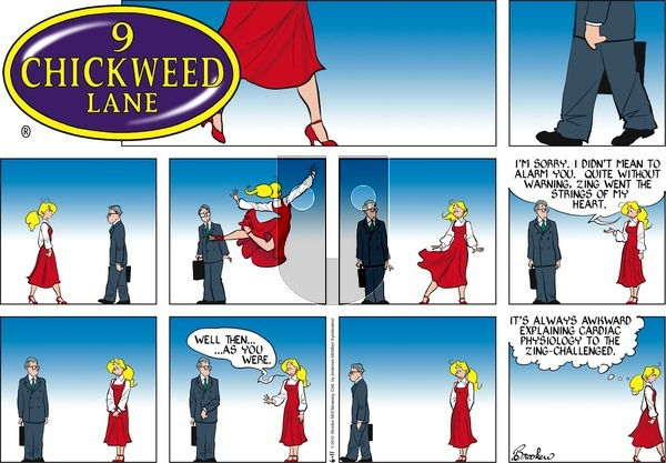 9 Chickweed Lane on Sunday June 11, 2017 Comic Strip