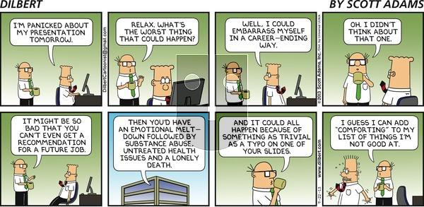 Dilbert on Sunday September 22, 2013 Comic Strip
