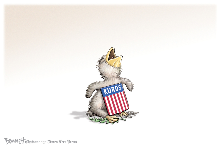 Clay Bennett by Clay Bennett for October 13, 2019