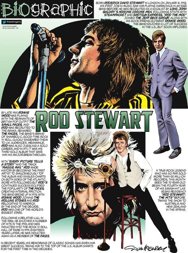Biographic on Sunday January 25, 2015 Comic Strip