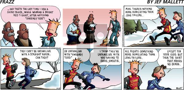 Frazz on Sunday February 24, 2008 Comic Strip