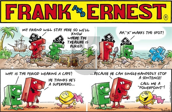 Frank and Ernest on Sunday January 5, 2020 Comic Strip