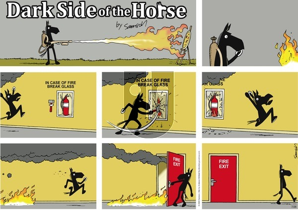 Dark Side of the Horse - Sunday July 26, 2020 Comic Strip