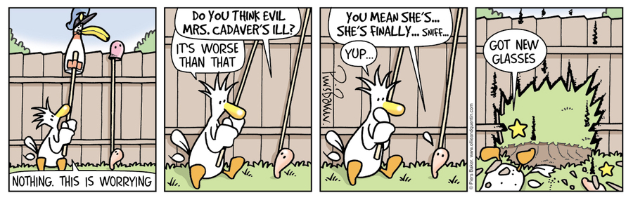 Ollie and Quentin for Mar 8, 2014 Comic Strip