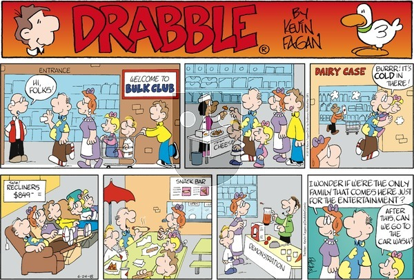 Drabble on Sunday June 24, 2018 Comic Strip