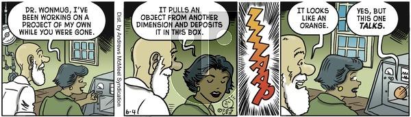 Alley Oop on Tuesday June 4, 2019 Comic Strip