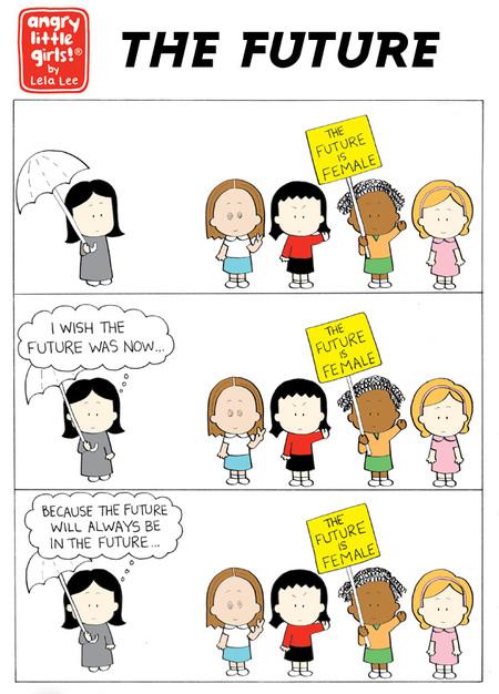 Angry Little Girls Comic Strip for September 09, 2019