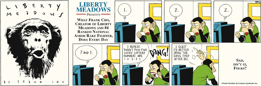 Liberty Meadows for Feb 3, 2013 Comic Strip
