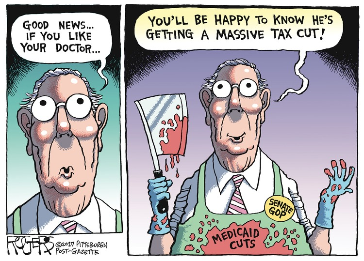 Rob Rogers Comic Strip for June 25, 2017