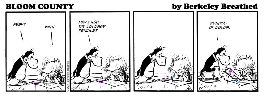Bloom County 2019 by Berkeley Breathed for May 31, 2019