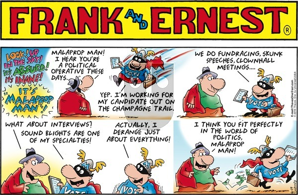 Frank and Ernest on Sunday June 19, 2016 Comic Strip